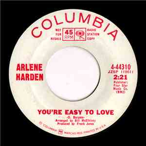 Arlene Harden - You're Easy To Love / What Has The World Done To My Baby download mp3 flac